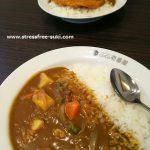 CoCo壱(ココイチ)大分田尻店でカツカレーと野菜カレー食べました、と肉じゃが料理