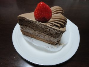 ボンサンクのケーキ