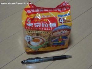 ダイソー 東京拉麺 チキン味