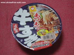 マルちゃん あつあつ肉すきうどん1