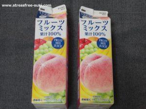 めいらく フルーツミックス果汁100%ジュース