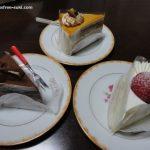 石村萬盛堂(大分市トキハわさだタウン1F)のボンサンクのケーキを食べました