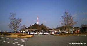 道の駅みえ 駐車場 大分県豊後大野市三重町