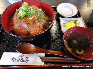 ななせ街道 ローストビーフ丼1