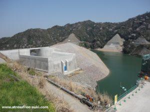 大分川ダム試験湛水2