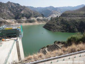大分川ダム試験湛水3