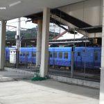 特急ソニック6号、亀川駅で止まった時の状況(7/30 朝7時頃)パート2