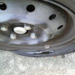 車のタイヤがパンクしました!パート1