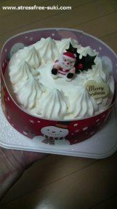 ヤマザキのクリスマスケーキ2018