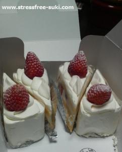 ボンサンクのショートケーキ1