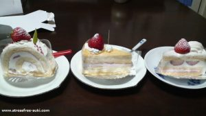 菊家のシャンテ・ドールのケーキ2