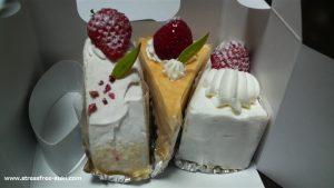 菊家のシャンテ・ドールのケーキ1