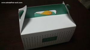 菊家・シャンテドールのケーキの箱