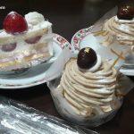 菊家シャンテドールのショートケーキとモンブラン