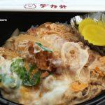 デカ弁日出店のカツ丼と山香の風の郷市場
