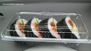デカ弁 日出店の巻き寿司