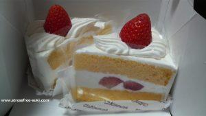 シャトレーゼのいちごショートケーキ