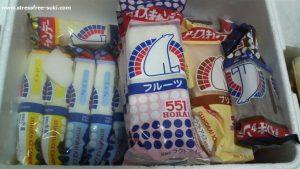 551蓬莱のアイスキャンディーと豚まん4