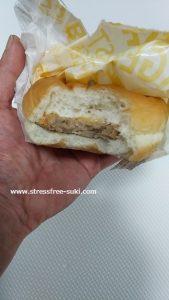 コスモスのチーズバーガー3